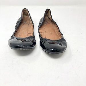Lucky Brand ERIN Ballet Flats Black Women's 6.5